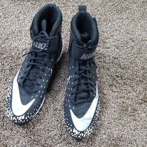 Nike high top cleats